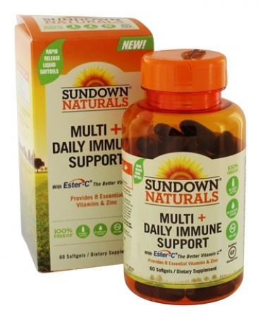 SUNDOW NATURALS - MULTI + DAILY IMMUNE SUPPORT
