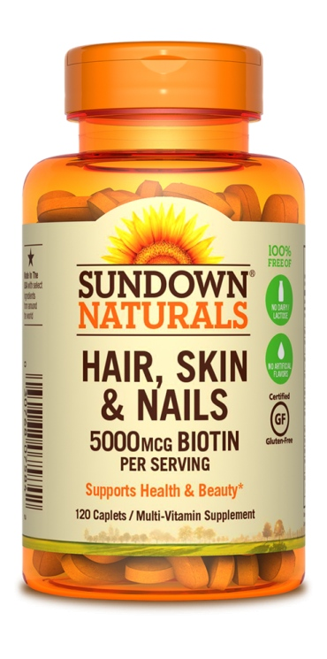 SUNDOWN NATURALS - HAIR, SKIN & NAILS