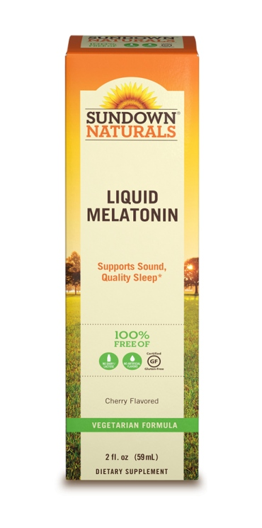 SUNDOWN NATURALS . LIQUID MELATONIN